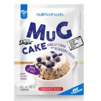 Nutriversum Mugcake, 1x50 Grams/10 bars box/
