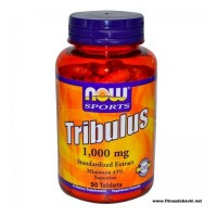 NOW Tribulus 1000mg, 90 Tablets