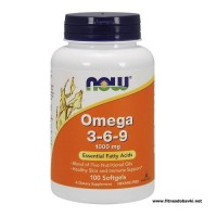 NOW Omega 3-6-9 1000mg, 100 Softgels