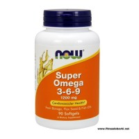 NOW Super Omega 3-6-9 1200mg, 90 Softgels
