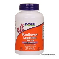 NOW Sunflower Lecithin 1200mg, 100 Softgels
