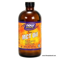 NOW MCT Oil Liquid Flavor, 473 ml.