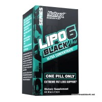 Nutrex Lipo 6 Black Hers Ultra Concentrate, 60 Capsules