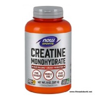 NOW Creatine Monohydrate Powder, 227 Grams